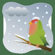 Love Birds sticker #1417059