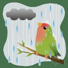 Love Birds sticker #1417060