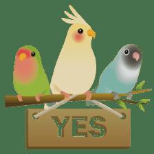 Love Birds sticker #1417066