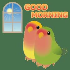 Love Birds sticker #1417072
