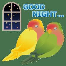 Love Birds sticker #1417073