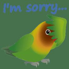 Love Birds sticker #1417081