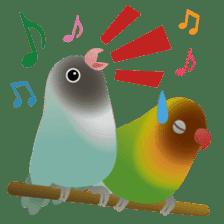 Love Birds sticker #1417082