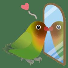 Love Birds sticker #1417085