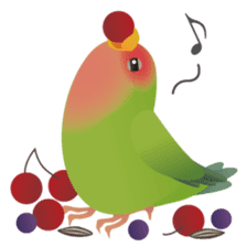 Love Birds sticker #1417086