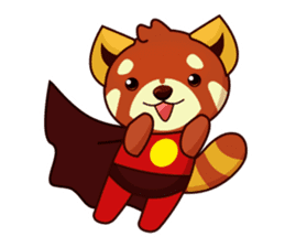 Red Pandas - English sticker #1417319