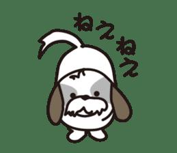 Pomeranian and Shihtzu sticker #1417330