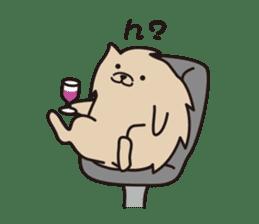 Pomeranian and Shihtzu sticker #1417335