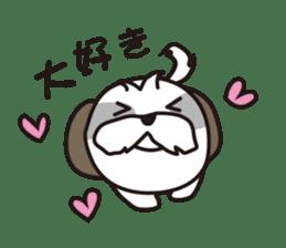 Pomeranian and Shihtzu sticker #1417342