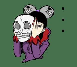 WAKU WAKU Halloween sticker #1417852