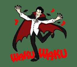 WAKU WAKU Halloween sticker #1417855