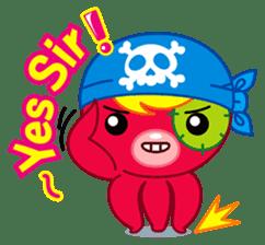 Jackie Octopus (English Edition) sticker #1418933