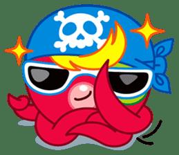 Jackie Octopus (English Edition) sticker #1418934