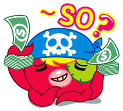 Jackie Octopus (English Edition) sticker #1418936