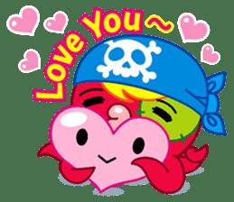 Jackie Octopus (English Edition) sticker #1418939