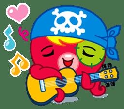 Jackie Octopus (English Edition) sticker #1418940