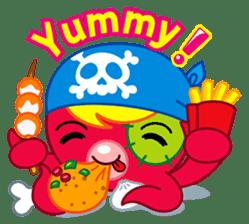 Jackie Octopus (English Edition) sticker #1418941