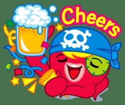 Jackie Octopus (English Edition) sticker #1418944
