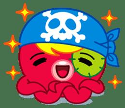 Jackie Octopus (English Edition) sticker #1418946
