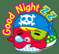 Jackie Octopus (English Edition) sticker #1418949