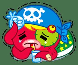 Jackie Octopus (English Edition) sticker #1418951