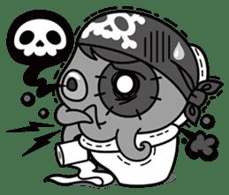 Jackie Octopus (English Edition) sticker #1418952