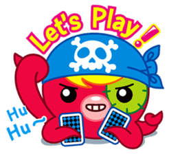Jackie Octopus (English Edition) sticker #1418953
