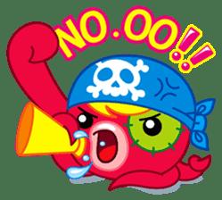 Jackie Octopus (English Edition) sticker #1418955