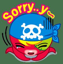Jackie Octopus (English Edition) sticker #1418961