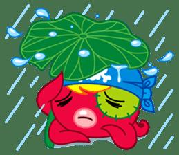 Jackie Octopus (English Edition) sticker #1418964