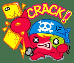 Jackie Octopus (English Edition) sticker #1418967