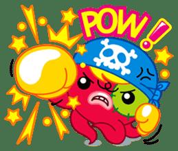 Jackie Octopus (English Edition) sticker #1418968
