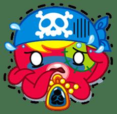 Jackie Octopus (English Edition) sticker #1418969