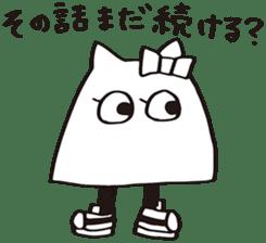 debusyou-kun and zessyoku-cyan sticker #1419058