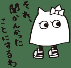 debusyou-kun and zessyoku-cyan sticker #1419059