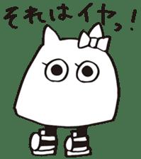 debusyou-kun and zessyoku-cyan sticker #1419062