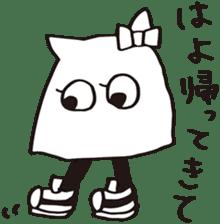 debusyou-kun and zessyoku-cyan sticker #1419067