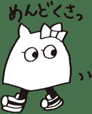 debusyou-kun and zessyoku-cyan sticker #1419079