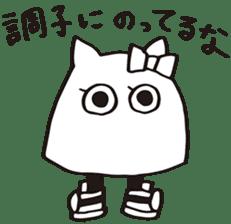 debusyou-kun and zessyoku-cyan sticker #1419087