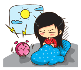 Manaw Lemon Lady sticker #1420170