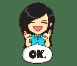 Manaw Lemon Lady sticker #1420181