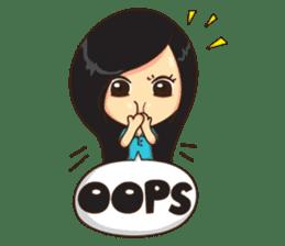 Manaw Lemon Lady sticker #1420186