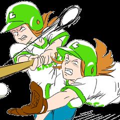 Baseball woman