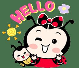 Seenam-LadyBug and Friend sticker #1427138