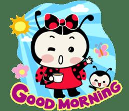 Seenam-LadyBug and Friend sticker #1427139