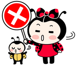 Seenam-LadyBug and Friend sticker #1427143