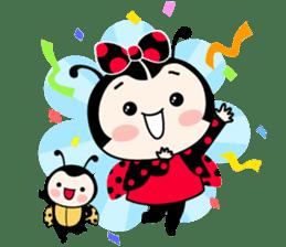 Seenam-LadyBug and Friend sticker #1427148
