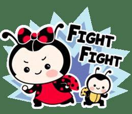 Seenam-LadyBug and Friend sticker #1427150