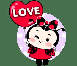 Seenam-LadyBug and Friend sticker #1427151