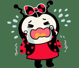 Seenam-LadyBug and Friend sticker #1427153